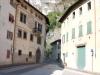 Die wunderschöne Kulisse im Dorfzentrum von Margreid.
