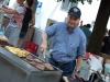 Unser Grillmaster Klaus hat uns sehr unterstützt durch sein Können und seine Ausdauer am Grill.