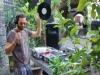 Einer der DJ's war Clemens Winkler, der mit Vinyl (!) arbeitet ...