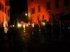 ... und die Leute vor der Bühne tanzten, mit unter barfuss ...