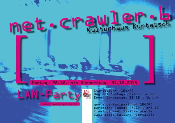 Infos zur LAN-Party net.crawler.6 und allen bisherigen LAN-Partys, die wir gemacht haben!