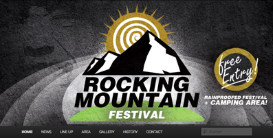 got to the Rocking Mountain Homepage